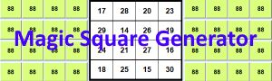 Magic Square Generator